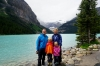 Am Lake Louise